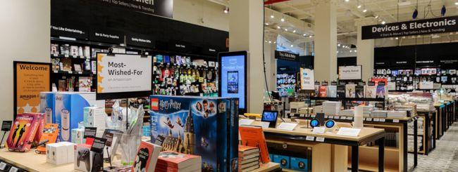 Amazon apre un negozio a 4 stelle