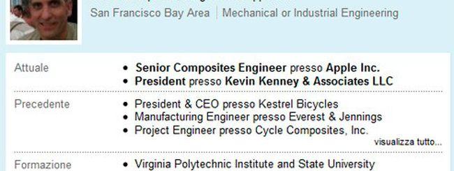 Apple, dall'alluminio ai materiali compositi