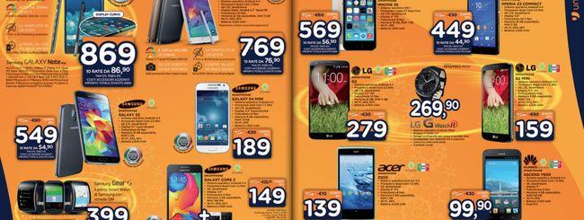 Volantino di Natale Unieuro: Lumia 535 a 129 euro