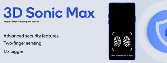 Qualcomm 3D Sonic Max, nuovo sensore ad ultrasuoni