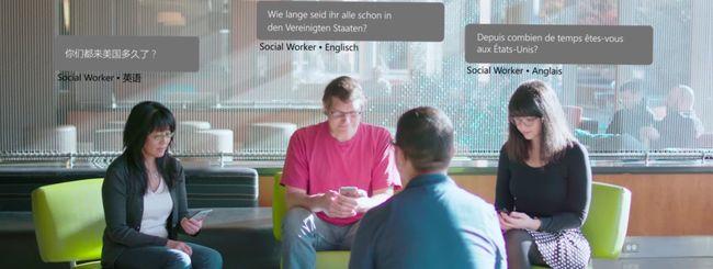Microsoft Translator, traduzioni in tempo reale
