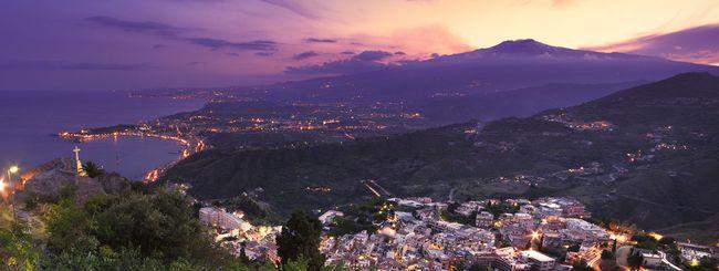 Sulla cima dell'Etna con Street View