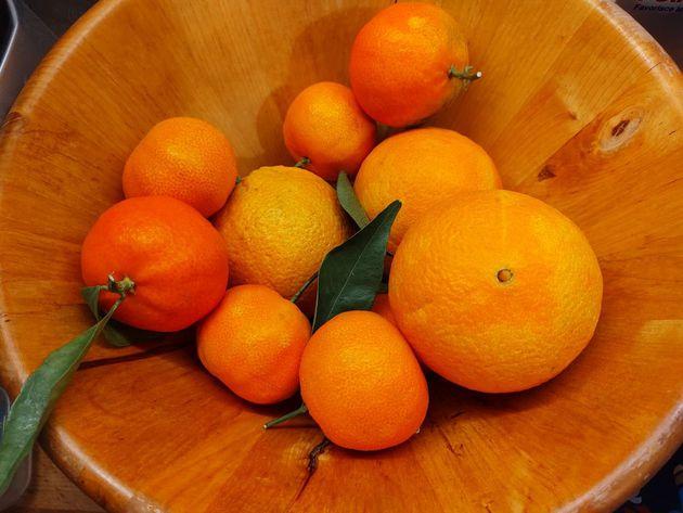 arance e clementine
