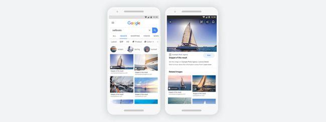 Google Immagini semplifica l'uso delle licenze