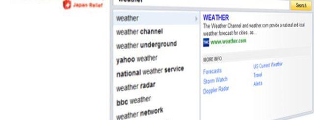 """Yahoo è più """"Instant"""" di Google"""