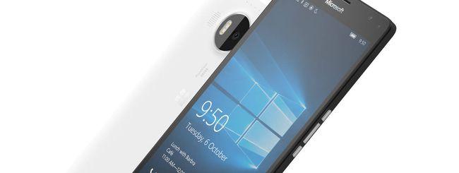 Lumia 950 XL, Dock per Continuum in regalo