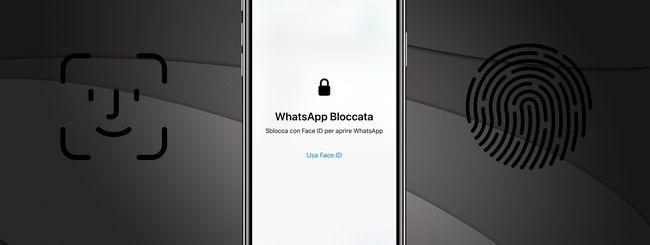 Bloccare WhatsApp con Face ID o Touch ID