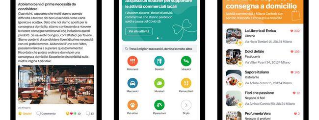 Nextdoor: nuove funzioni per le attività commerciali