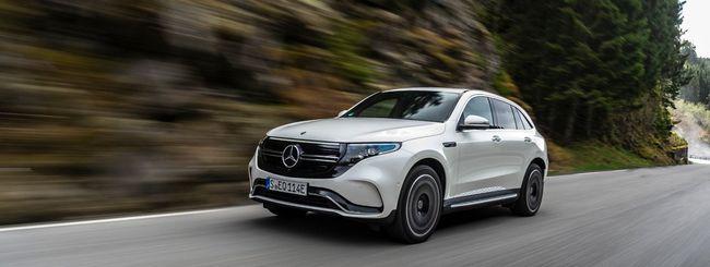Mercedes EQC: tecnologia e 400 Km di autonomia