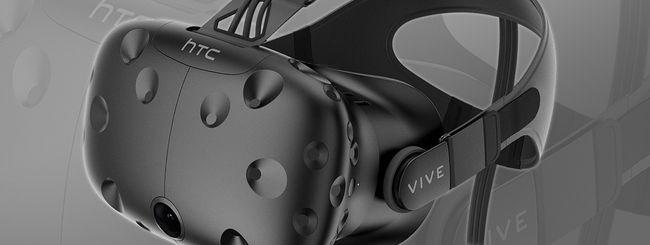 HTC Vive in Italia al prezzo di 899 euro
