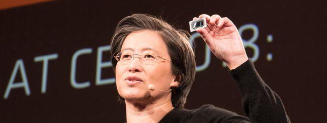 AMD annuncia i risultati finanziari di fine 2018