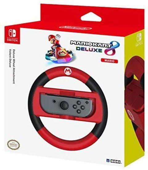 Hori Volante Joy-Con Mario Kart 8 Deluxe (Versione Mario) - Ufficiale Nintendo - - Nintendo Switch