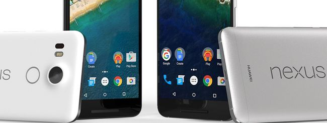 Google svela nuovi dettagli su Nexus 6P e Nexus 5X