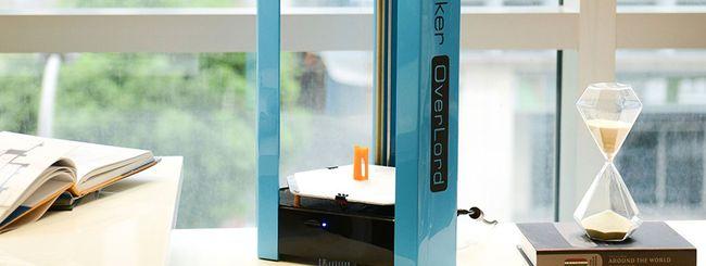 OverLord, la stampante 3D per oggetti multicolore