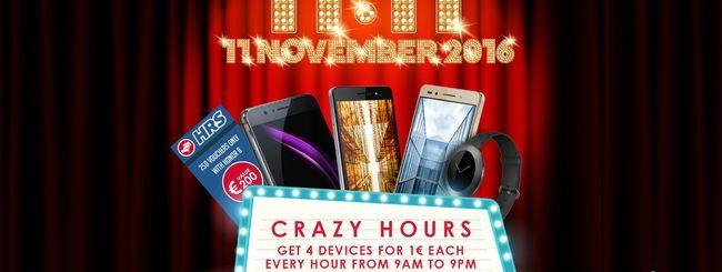 Honor, smartphone ad 1 euro l'11 novembre