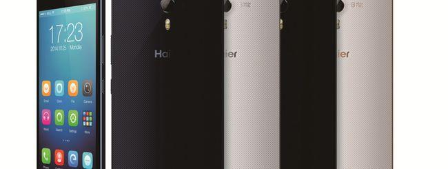 Haier presenta i nuovi smartphone Voyage