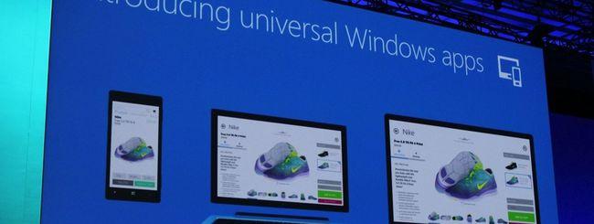 Windows, app universali per tutte le piattaforme