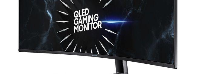 Gamescom: Samsung lancia i monitor CRG50 e CRG90