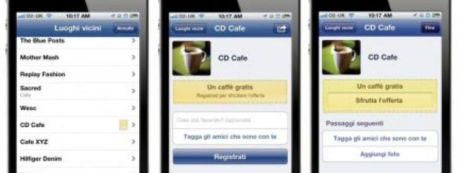 Ottenere sconti con un iPhone: arriva in Italia Facebook Deals