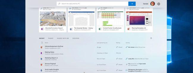 Windows 10: con Sets più app nella stessa finestra