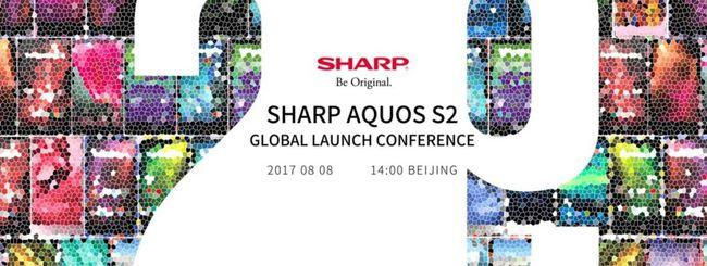Sharp Aquos S2, annuncio previsto per l'8 agosto