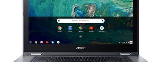 Acer Chromebook Spin 15, le immagini
