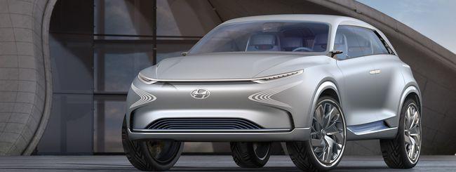Hyundai FE Concept, un'auto a idrogeno