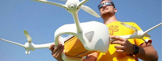 La posta la consegneranno i droni