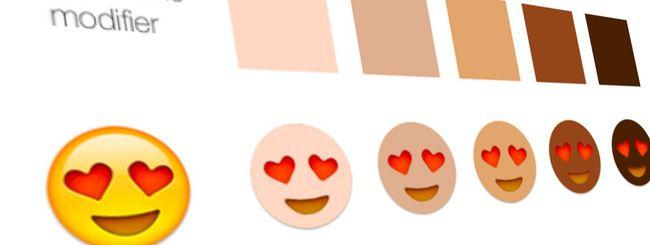 Emoji: faccine multietniche in arrivo