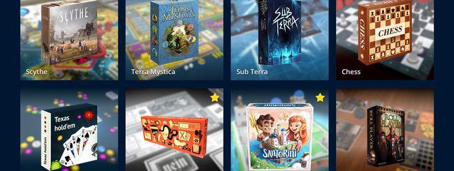 Tabletopia, giochi da tavolo online in isolamento