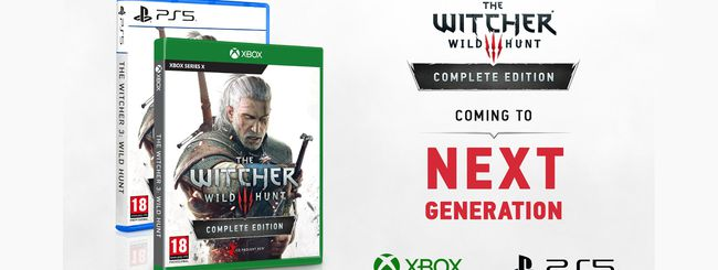 The Witcher 3, upgrade gratis per Xbox Series X e PS5