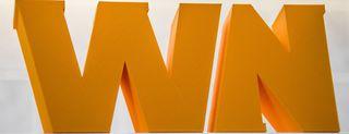 Webnews, logo stampato in 3D