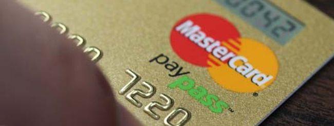 Per la pubblicità… c'è MasterCard