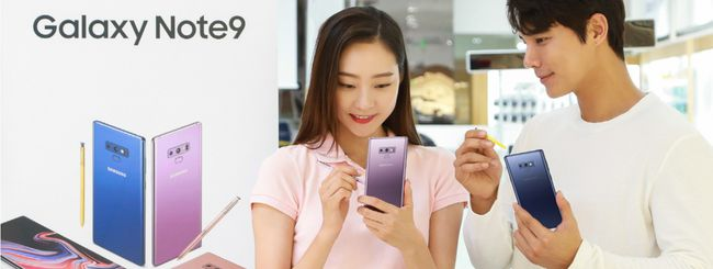 Samsung Galaxy Note 9 si prenota su Amazon