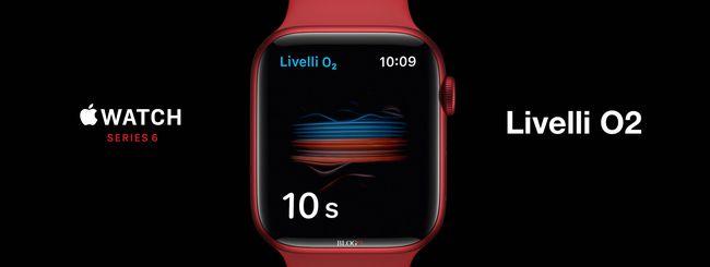 Apple Watch Series 6, usare Livelli O2 e risoluzione problemi