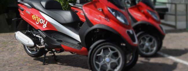 Enjoy, lo scooter sharing arriva a Roma
