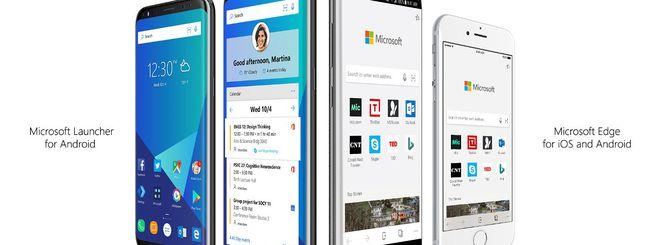 Microsoft Edge arriva su iOS ed Android