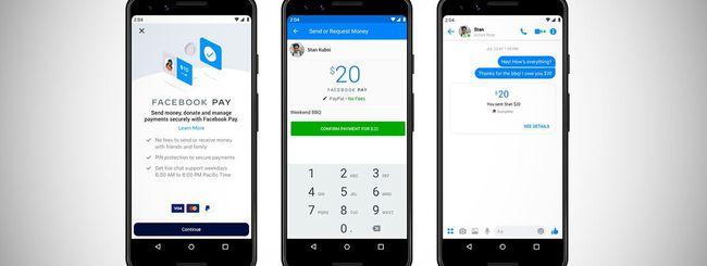 Facebook Pay: dettagli sulla sicurezza