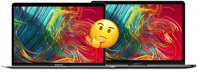 MacBook Air VS. MacBook Pro 13″: Quale Scegliere?