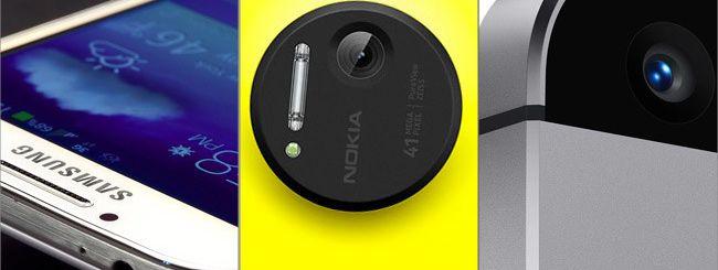 iPhone 5S vs HTC One, Galaxy S4 e Nokia Lumia 1020