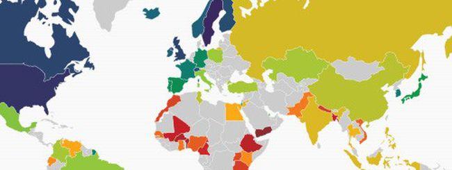 Web Index: Italia al 23esimo posto