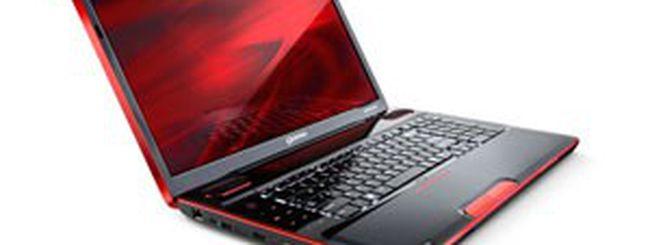 Toshiba Qosmio X500: un portatile per giocare