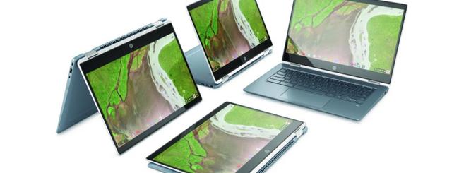 Arriva HP Chromebook x360 14, un elegante 2-in-1