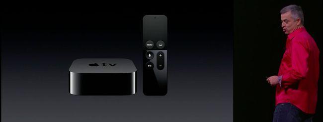 Evento Apple: Apple TV e tvOS