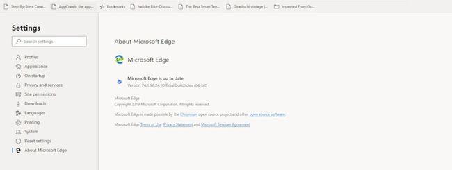 Nuovo Microsoft Edge, prime impressioni