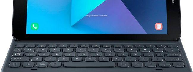 Galaxy Tab S3, nuova immagine con la tastiera