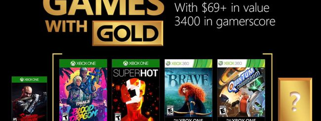 Microsoft annuncia i Games with Gold di Marzo