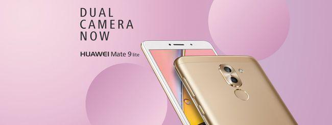Huawei Mate 9 Lite, dual camera di fascia media