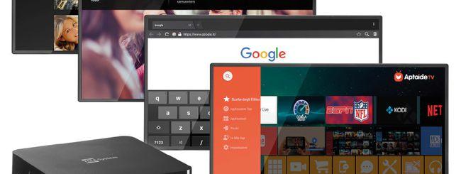 Telesystem TS UP 4K, decoder e set-top box Android