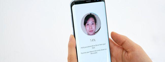 Galaxy S8, riconoscimento facciale poco sicuro